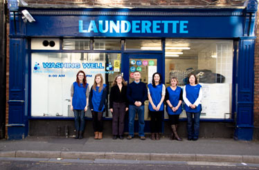 Launderette in Salisbury
